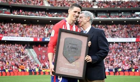 Bài phát biểu chia tay cảm động của Torres