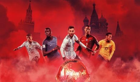 Ngoài Ronaldo và Messi, còn siêu sao đáng xem ở VCK World Cup 2018?