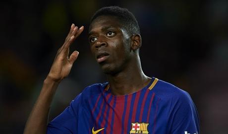 Barca đồng ý cho Arsenal mượn Dembele