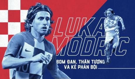Luka Modric trước thềm World Cup: Bom đạn, thần tượng và kẻ phản bội