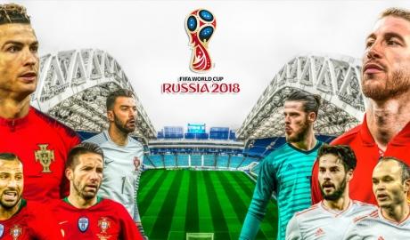 So sánh ĐT Bồ Đào Nha và ĐT Tây Ban Nha: Ronaldo gánh cả đội