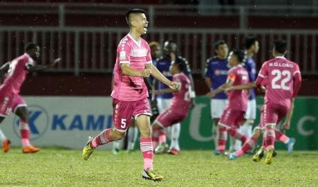 Hà Nội FC thua trận đầu tiên ở V.League 2018