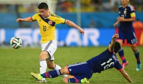 3 điểm nóng trận Colombia - Nhật Bản