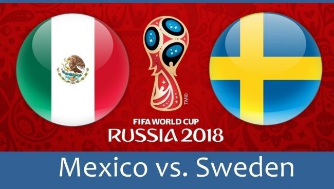 Nhận định Mexico vs Thụy Điển, 21h00 ngày 27/06: Bảng F World Cup 2018