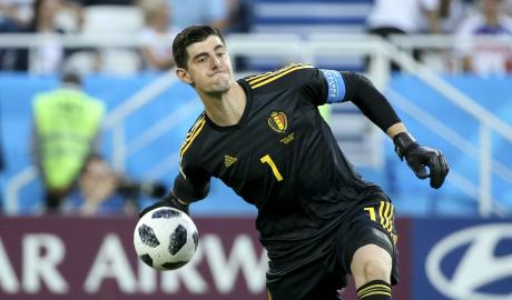 Courtois hé lộ ý định trở lại Madrid
