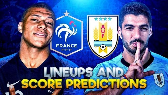 Nhận định Uruguay vs Pháp, 21h00 ngày 06/7 (Tứ kết World Cup 2018)