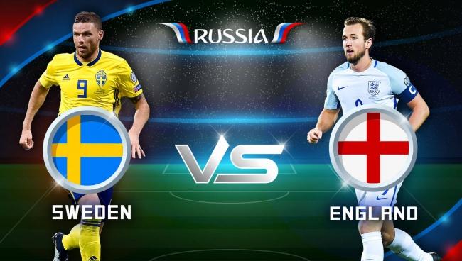 Nhận định Thụy Điển vs Anh, 21h00 ngày 07/7 (Tứ kết World Cup 2018)