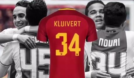 Con trai Kluivert chọn số áo 34 để cầu nguyện cho đồng đội bị chết não