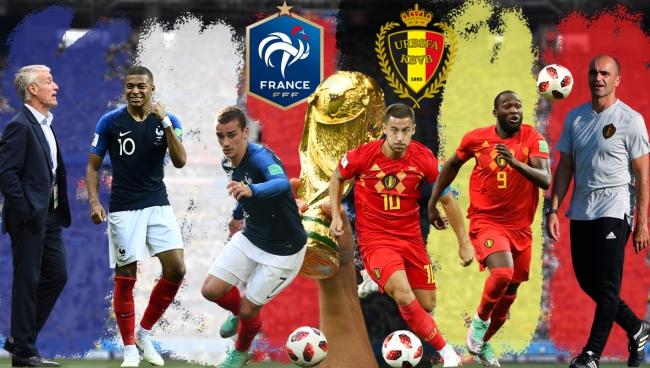 Nhận định Pháp vs Bỉ 1h00 ngày 11/7: Bán kết World Cup 2018