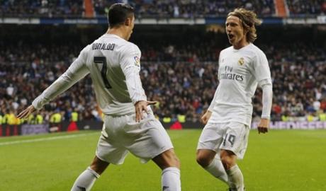 Luka Modric tri ân Ronaldo