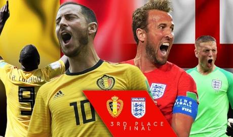 Bỉ vs Anh: Ai sẽ né lời nguyền huy chương đồng World Cup?