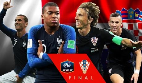 3 điểm nổ trong trận chung kết World Cup 2018