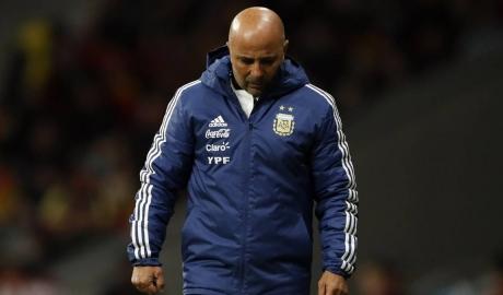 Argentina sa thải HLV Sampaoli sau thất bại ở World Cup
