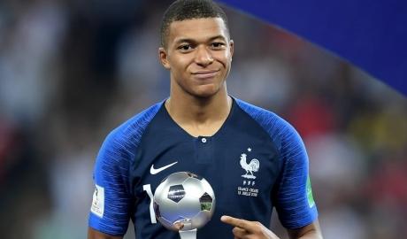 Mbappe giành giải Cầu thủ trẻ hay nhất World Cup