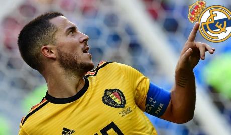 HLV Bỉ xúi giục Eden Hazard rời Chelsea