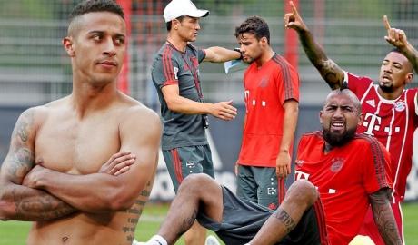 Thanh lọc lực lượng, Bayern rao bán một loạt ngôi sao
