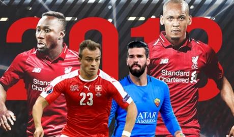 Đội hình đáng sợ của Liverpool mùa 2018-19