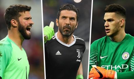 Alisson, Buffon và những thủ môn đắt giá nhất thế giới