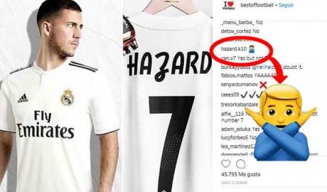 Người nhà Hazard không thích Real Madrid