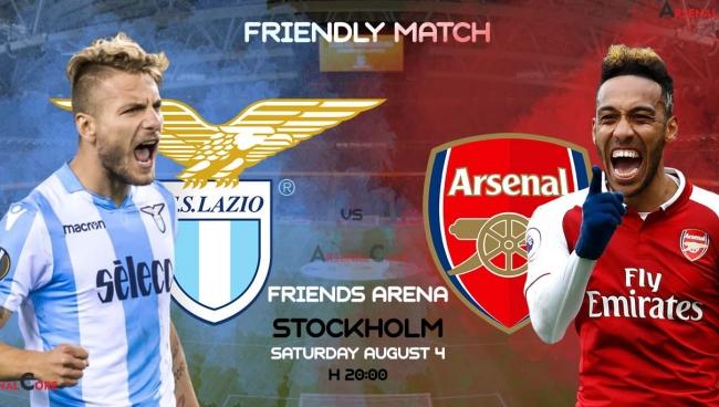 Nhận định Arsenal – Lazio, 01h00 ngày 05/8 (Giao hữu CLB)