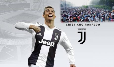 Ronaldo giúp Juventus phá kỷ lục trên YouTube