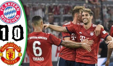 Man Utd không một lần sút trúng khung thành trong trận thua Bayern