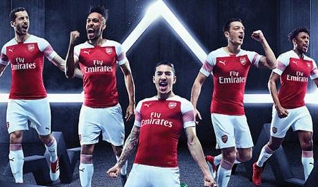 Thay áo đấu, Arsenal tăng thu nhập gấp đôi