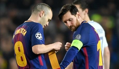 Messi trở thành đội trưởng Barca