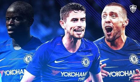 Jorginho - Kovacic - Kante: Buồng phổi ở giữa sân của Chelsea