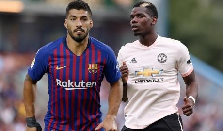 Suarez dụ Pogba rời MU để gia nhập Barca