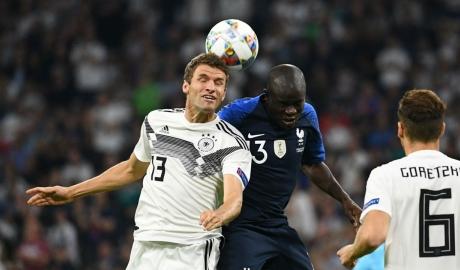 Đức hòa Pháp 0-0: 'Xe tăng' trở lại vũ đài
