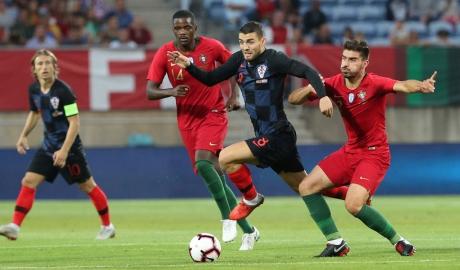 Bồ Đào Nha hòa Croatia khi Ronaldo vắng mặt