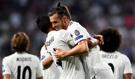 Real Madrid thắng Roma bằng ba tuyệt phẩm