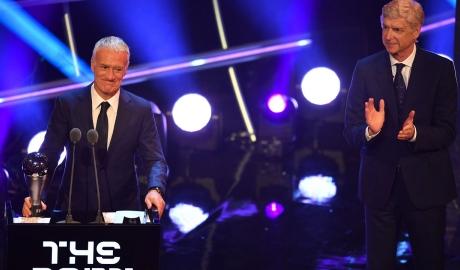 Deschamps giành giải The Best cho HLV