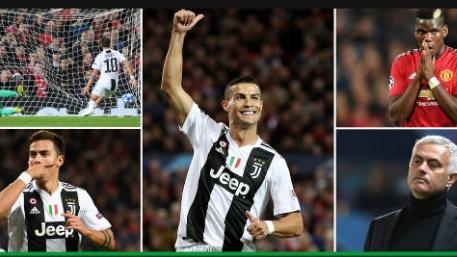 """Juventus hạ MU cúp C1: Báo Anh cay cú chê Ronaldo kém hơn """"tiểu Messi"""""""