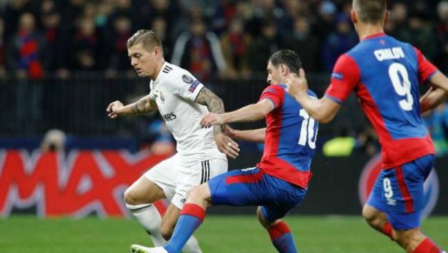 Nhận Định Real Madrid - CSKA Moscow 00h55 ngày 13/12 (Bảng G UEFA Champions League 2018/19)