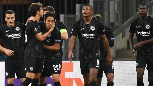 Nhận Định Lazio - Frankfurt 00h55 ngày 14/12 (Bảng H Europa League 2018/19)