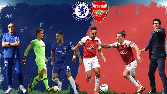 Nhận Định Arsenal – Chelsea 00h30 ngày 20/1 (Vòng 23 Premier League 2018/19)