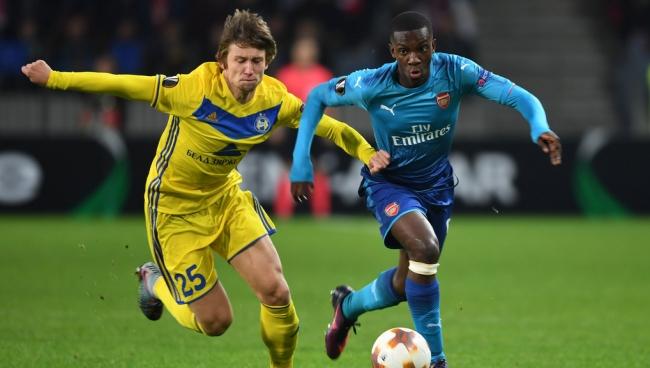 Nhận Định BATE Borisov – Arsenal 00h55 ngày 15/2 (Vòng 1/16 Europa League 2018/19)