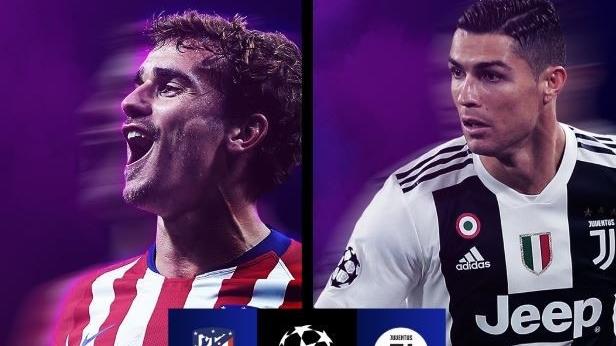 Nhận Định Atletico Madrid – Juventus 03h00 ngày 21/2 (Vòng 1/16 UEFA Champions League 2018/19)