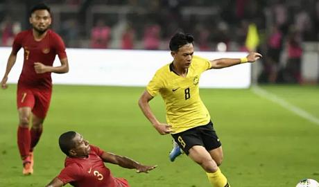 Malaysia hạ Indonesia nhờ bàn thắng phút 96