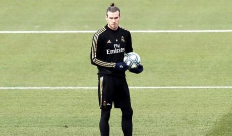 Bale bị cách ly khỏi buổi tập của Real Madrid