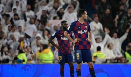 Messi tịt ngòi, Barca phơi áo tại Bernabeu