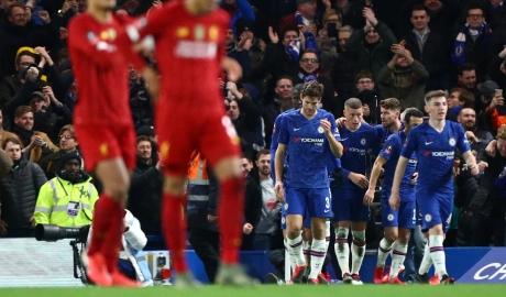 Chelsea 2-0 Liverpool: 'The Kop' thất bại toàn diện