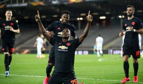 MU đặt một chân vào tứ kết Europa League sau trận thắng 5-0