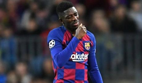 Barca ra phán quyết tương lai cho Dembele