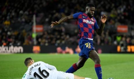 Hậu vệ Barca trả giá vì không chịu điều trị chấn thương
