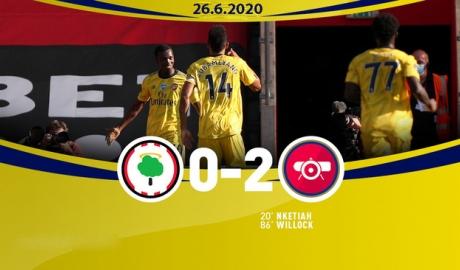 Southampton 0-2 Arsenal: Chủ nhà hiếu khách