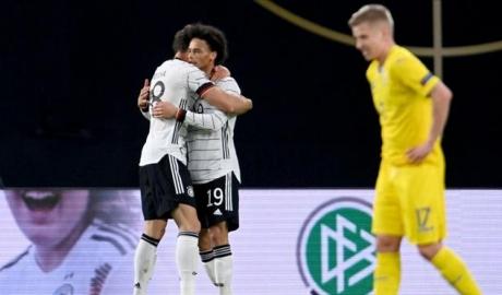 Đức 3-1 Ukraine: Niềm vui nhân đôi