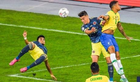 Kết quả Brazil 2-1 Colombia: Kịch tính ở phút 100